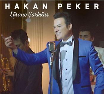دانلود آلبوم ترکیه ای جدید Hakan Peker بنام Efsane Sarkilar